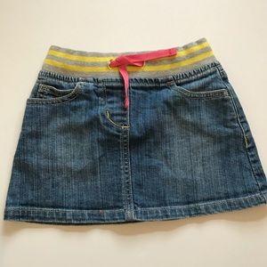 Mini Boden Denim Jean Skirt